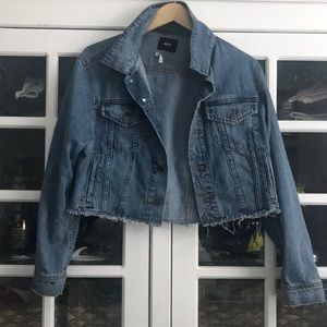 Urban Outfitters Raw Edge Jean Jacket
